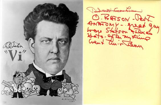 Dr. O. Batson