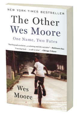 The Other Wes Moore book jacket
