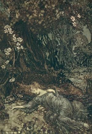 Illustration from A Midsummer Night's Dream