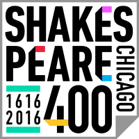 Chicago Shakespeare Celebration logo