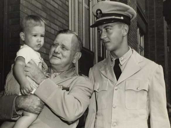 Photograph of Donald and Paul Hawley ca 1944