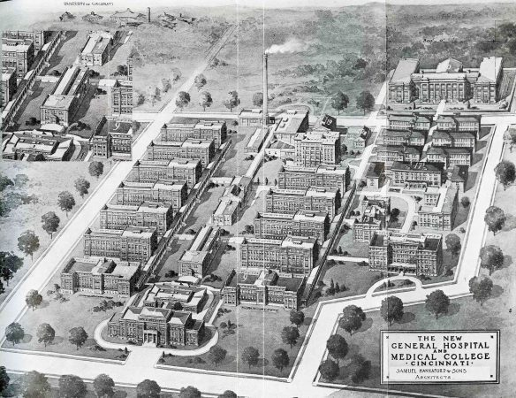 Cincinnati General Hospital's Intended Block Plan