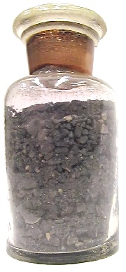 """The mysterious antique bottle of """"sulfur iodide."""""""