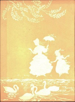 Inner Cover of Andersen's Fairy Tales