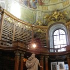 Scultpure and architecture of the Austrian National Library