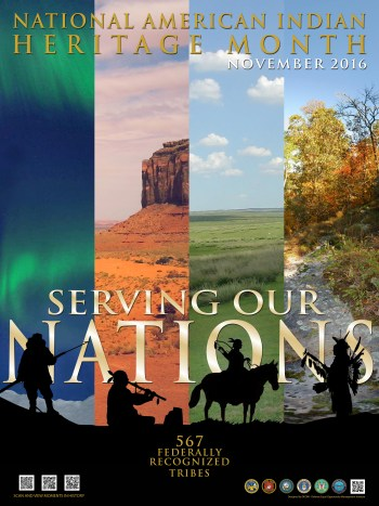 native american heritage poster