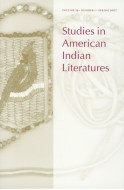 studies in american indian literatures