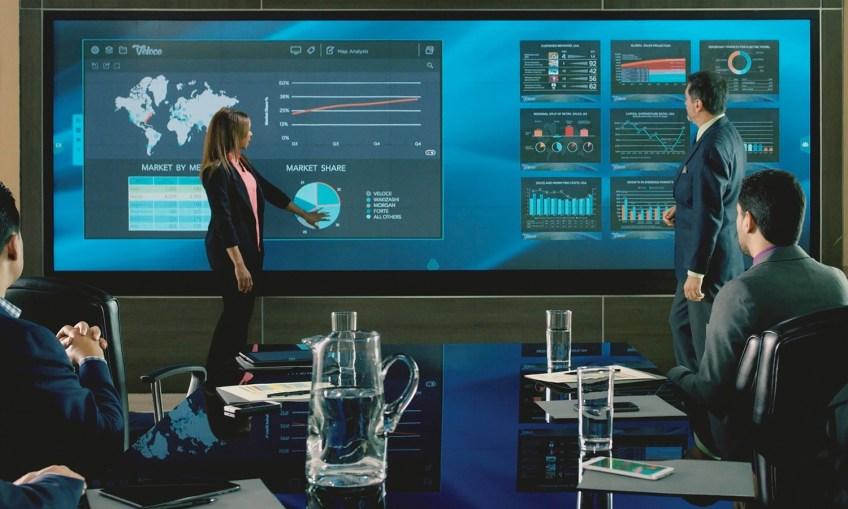 data visualtion wall