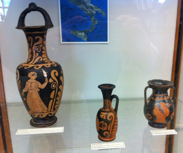 Ancient Greek Pottery From Southern Italy And Sicily On Display In