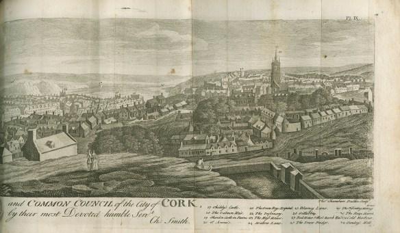 Drawing of Cork City