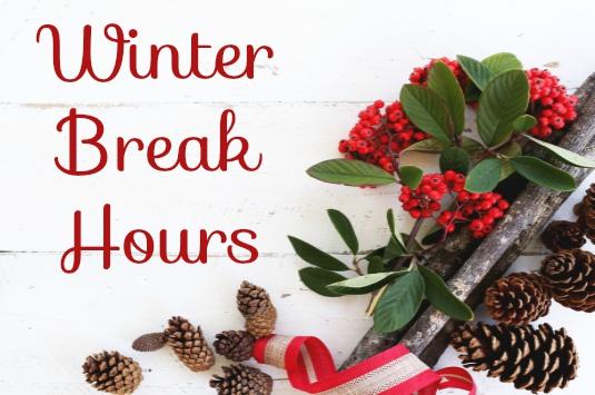 Winter Break Hours image