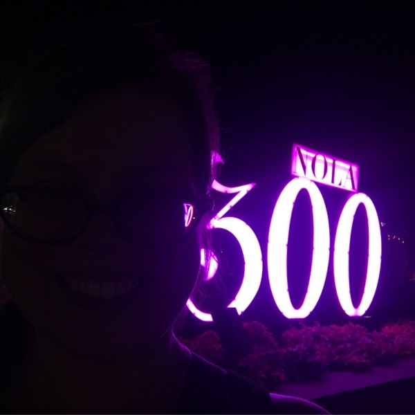 NOLA 300th birthday sign