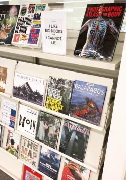 Big Books display