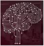 electronic brain graphic