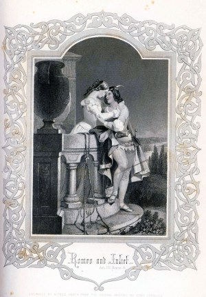Romeo and Juliet from Carson's volume of Shakespeare