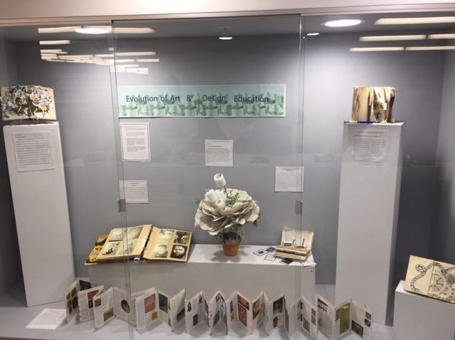 exhibit of art education artists' books