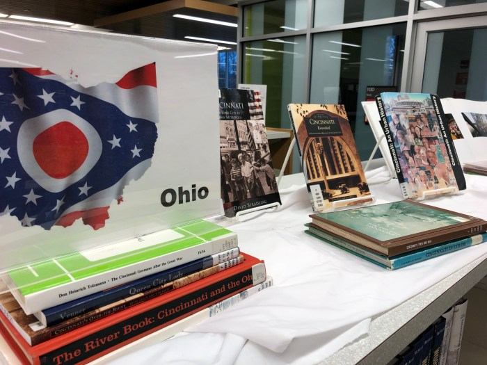 ohio book display