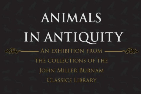 animals in antiquity