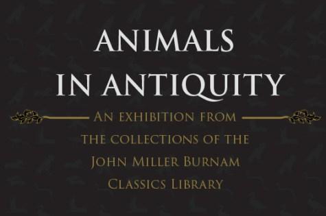 animals in antiquity
