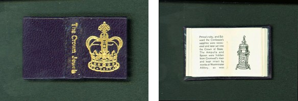 The Crown Jewels - Cover page and a page of text