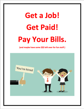 you're hired graphic