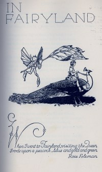 In Fairyland by Rose Flyeman
