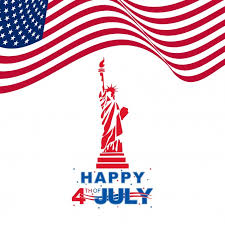 Happy 4th of July graphic