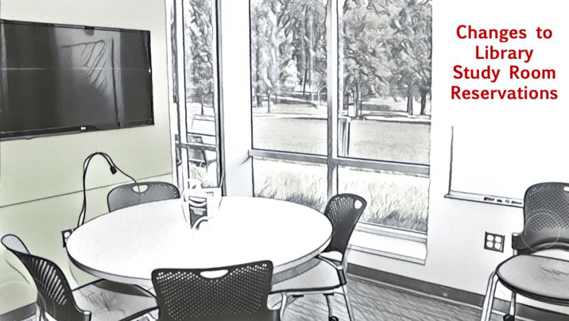 Photo of study room