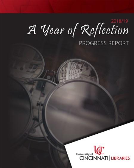 annual progress report cover