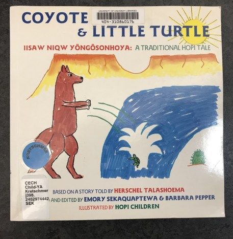Image of the book Coyote and Little Turtle