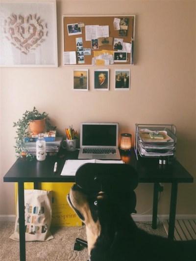 Casey's desk