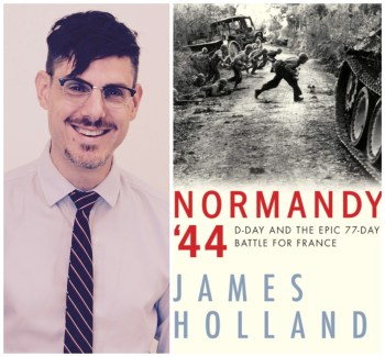 Christian Boyles and Normandy '44 book cover