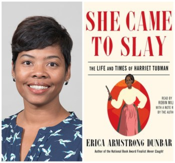 Michelle McKinney and cover of She Came To Slay