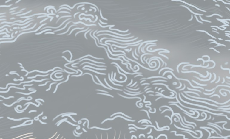 Drawing Water series, detailed view