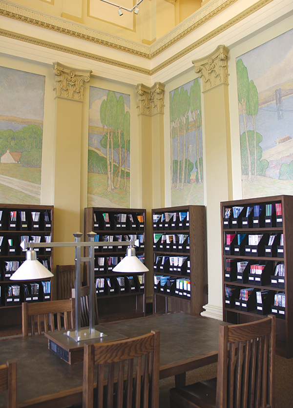 ceas library reading room