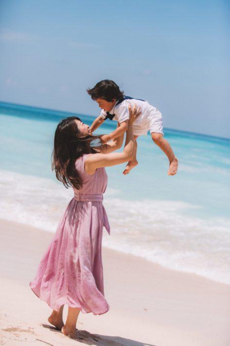 家族写真 バリ島 撮影 ファミリー