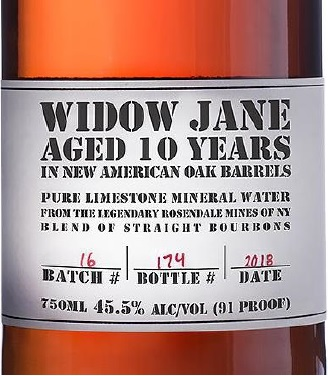 Widow Jane Bottle Picture 2018 from complaint
