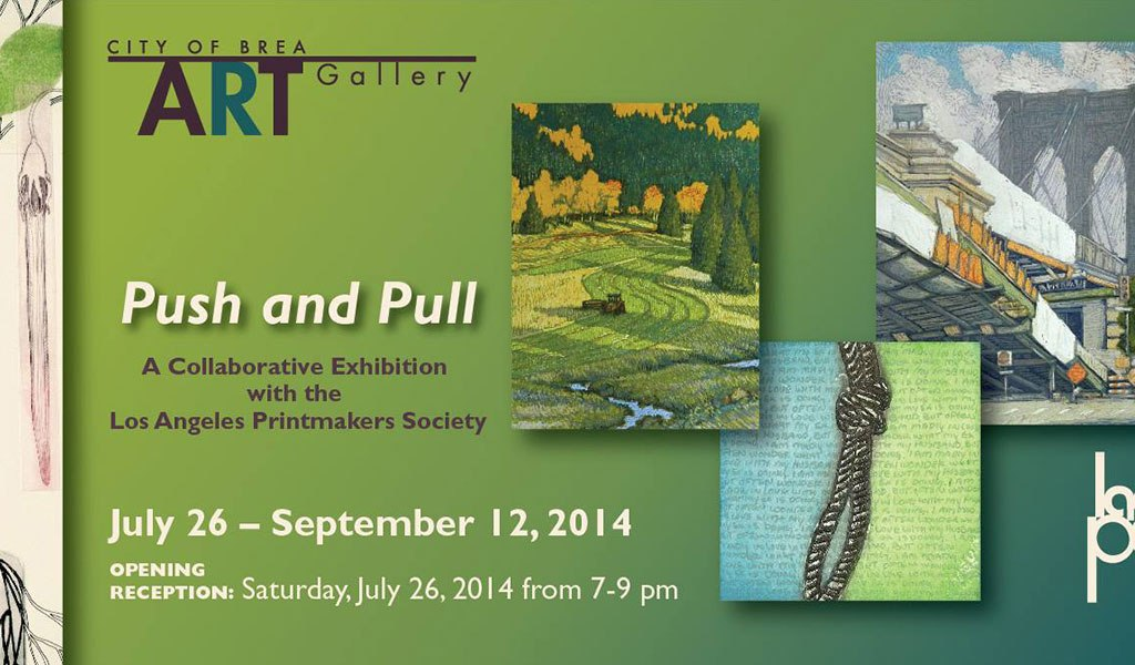 Push and Pull: LA Printmaking Society Exhibition