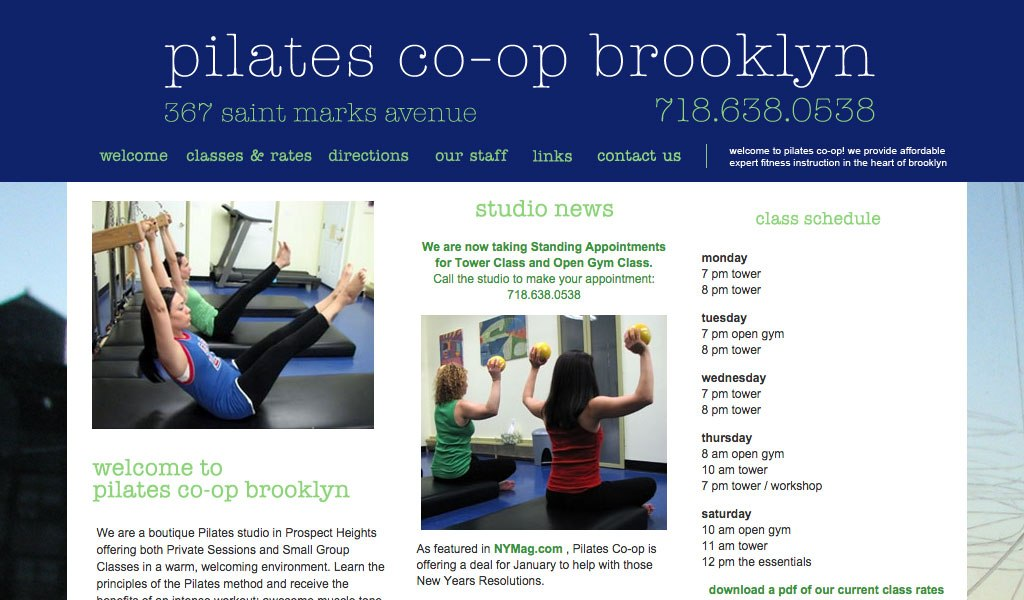 Pilates Co-op Brooklyn