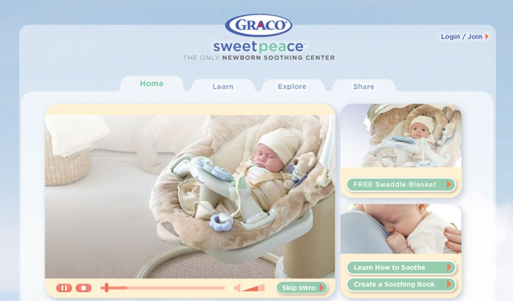 Graco Sweetpeace
