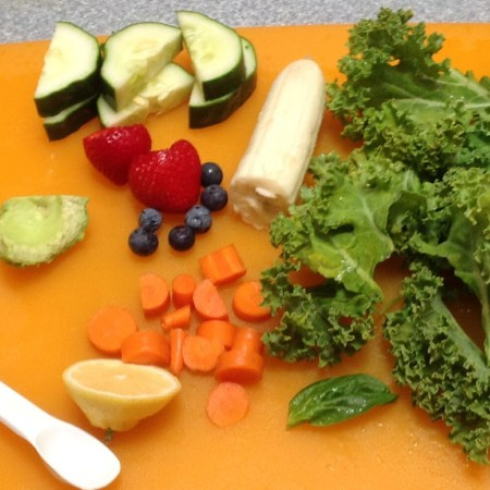 Smoothie Fruits and Veggies