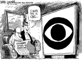 CBS eye on TV
