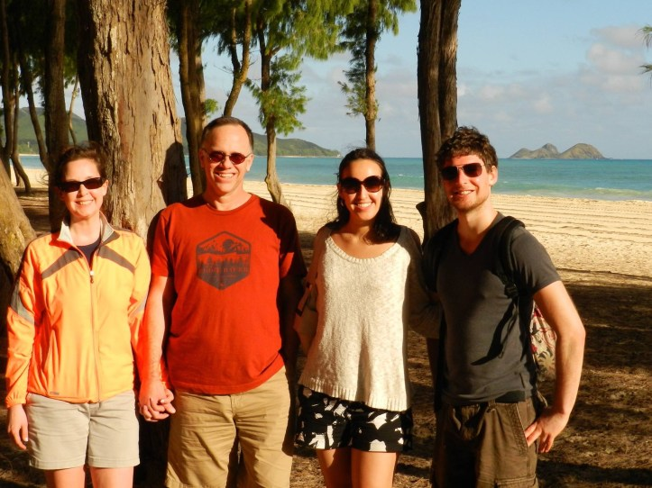 Rome family in Hawaii 2015