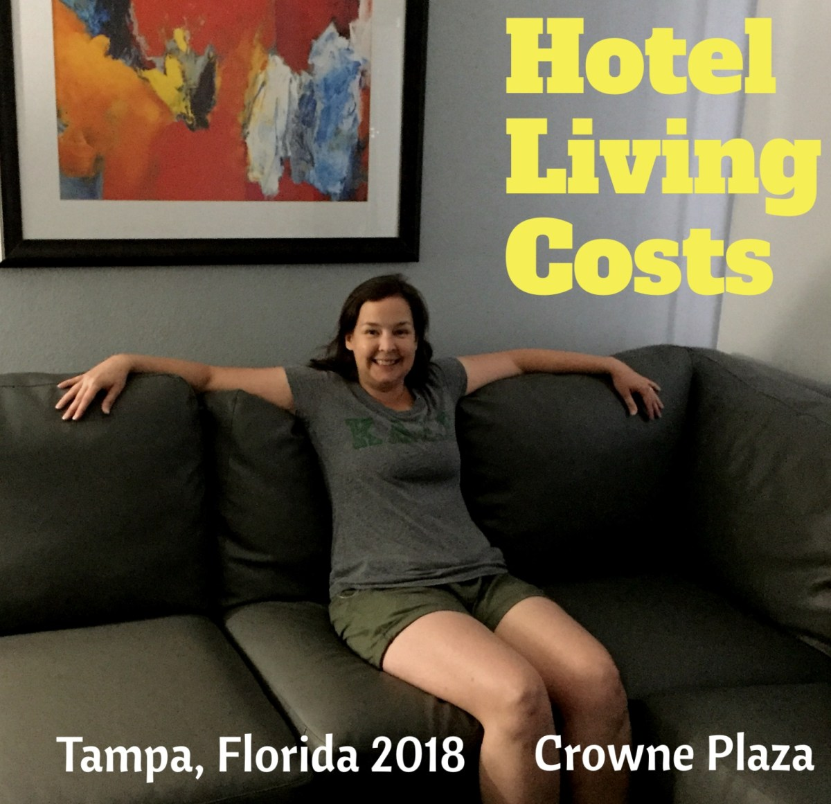 Actual Hotel Living Costs: Crowne Plaza