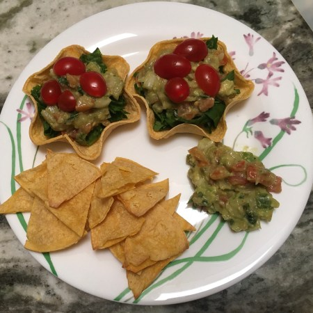 oil-free crispy corn tortilla chips
