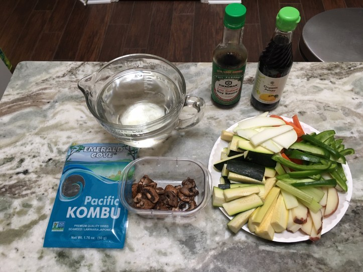 Shabu-Shabu Ingredients