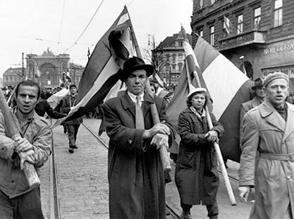 Image result for hungarian revolution of 1956