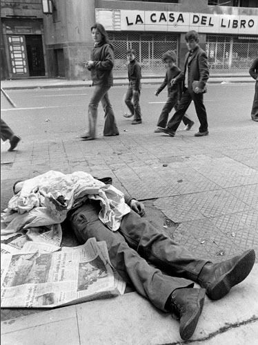 Victim of the Pinochet dictatorship.