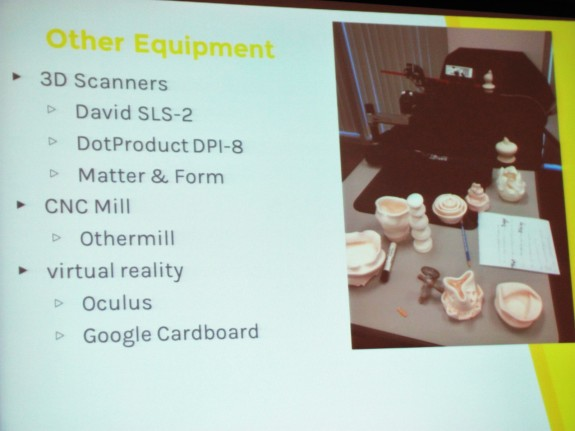 Other Equipment in the Makerspace