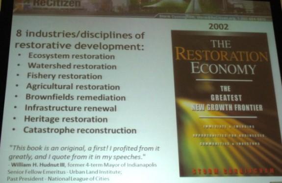 8 Categories of Restorative Development